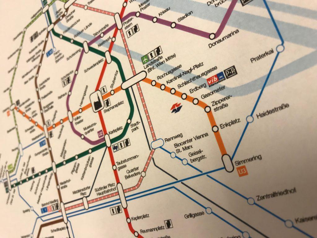Rete U-Bahn Wien