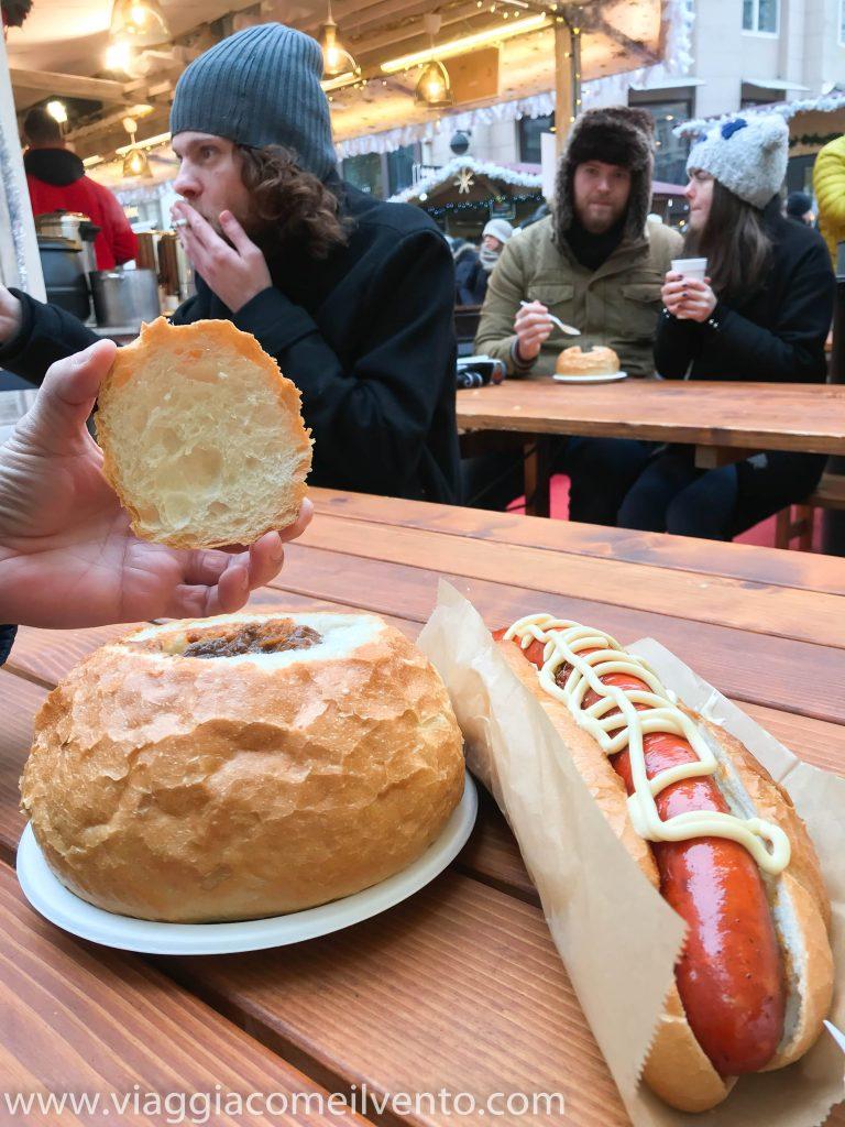 Gulash in bread